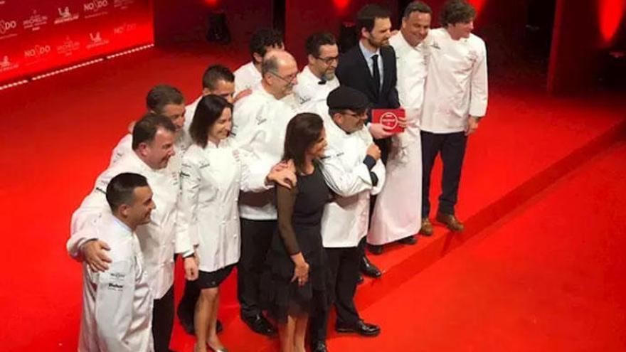 'El Cenador de Amós', en Cantabria, nuevo tres estrellas Michelin