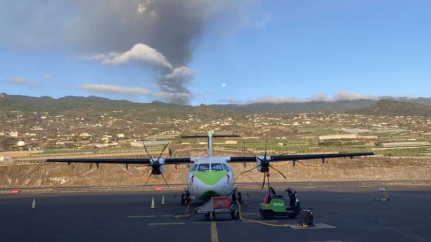 Binter retoma este lunes sus vuelos con La Palma