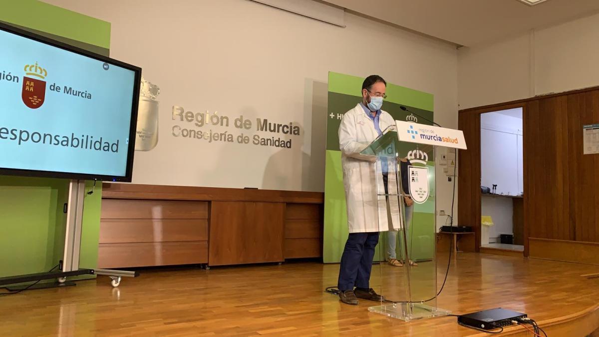 Directo | Rueda de prensa sobre la última hora del coronavirus en la Región de Murcia