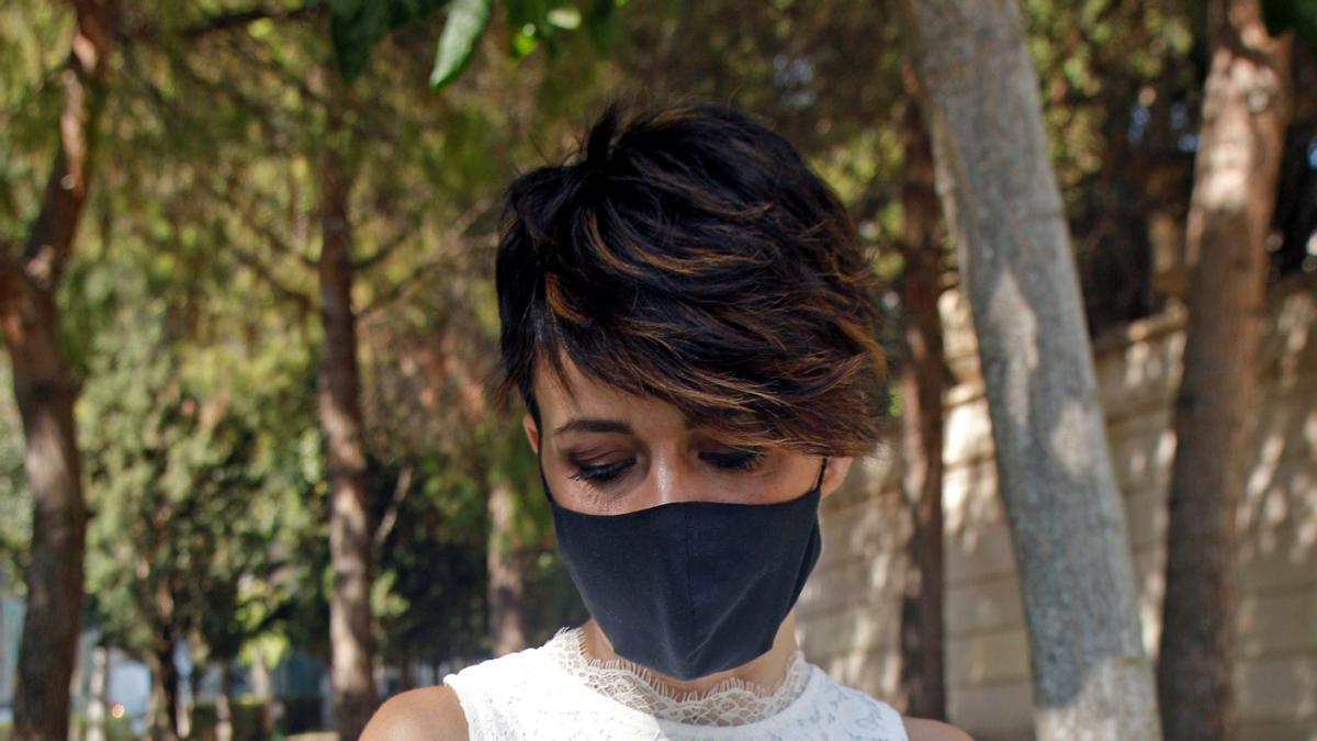Noelia Bru, prima de Patricia Aguilar y portavoz de la familia.
