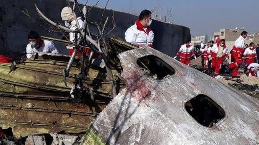 """Irán anuncia que ha detenido a """"varias personas"""" por el derribo del avión ucraniano"""