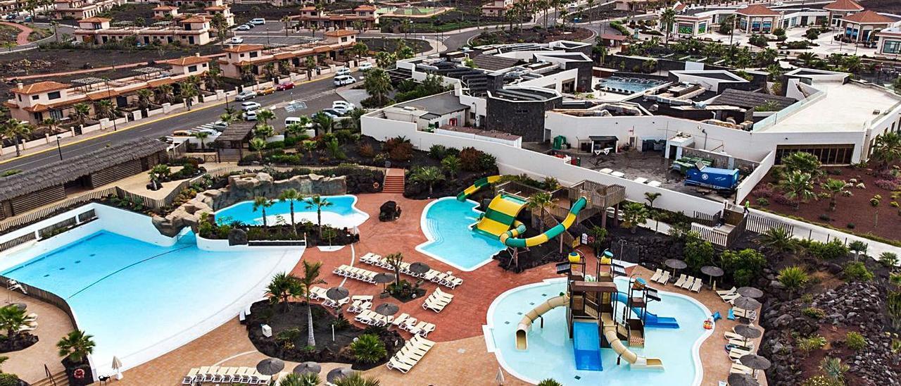 Imagen aérea del resort Fuerteventura Origo Mare, en la zona de Majanicho.