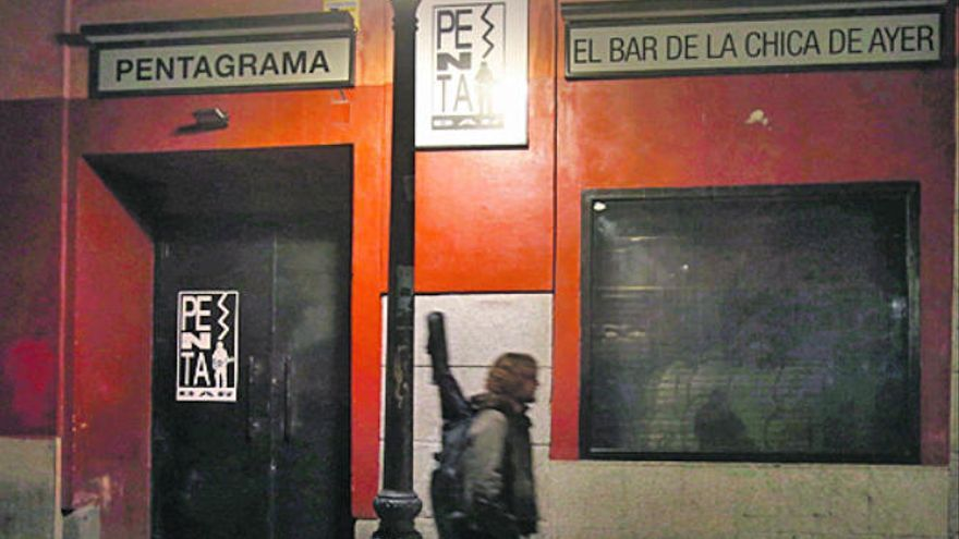 El bar de 'La chica de ayer' celebra 40 años