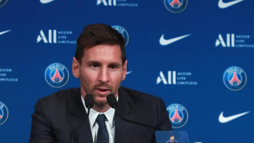 Messi desferma la bogeria també entre la premsa