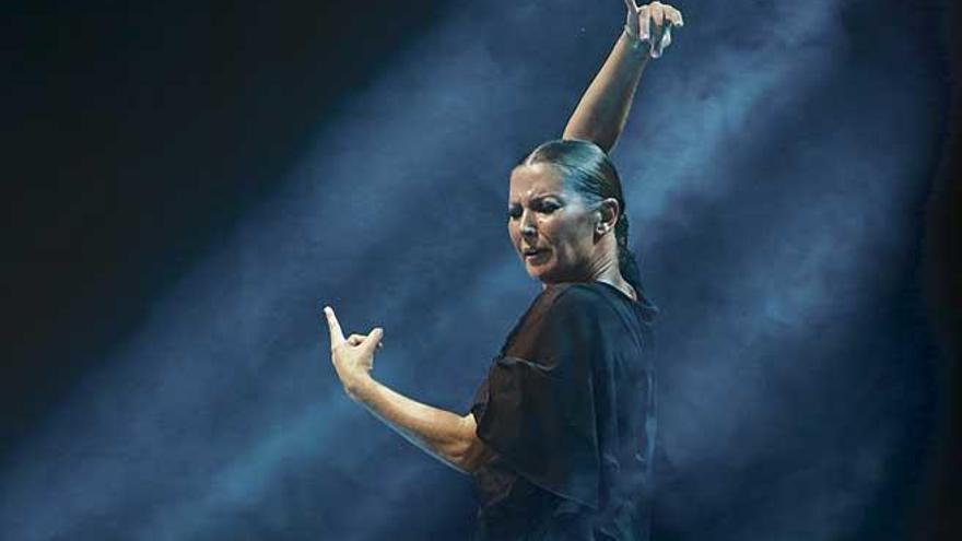 """Sara Baras: """"Cuando te olvidas  de la técnica y te dejas llevar por  lo que sientes aparece la magia  del flamenco"""""""