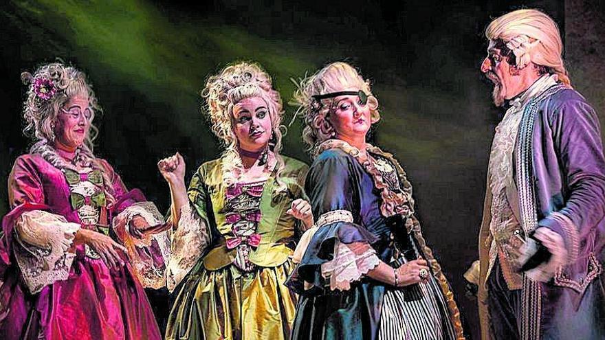 'El juego de los embustes', un esmerado trabajo teatral