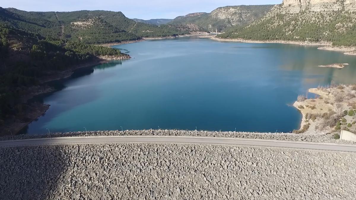 La actuación en el pantano de Arenós permitirá ampliar la capacidad de embalsado y mejorar la seguridad