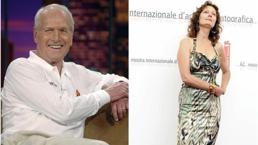 Paul Newman sí que accedió a igualar su sueldo con Susan Sarandon