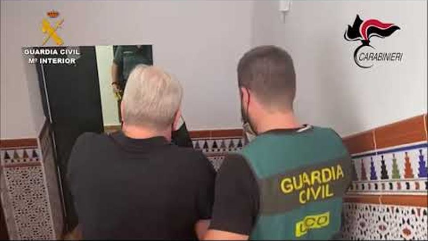 Detienen en Málaga a un fugitivo de Italia con vínculos con la 'Ndrangheta