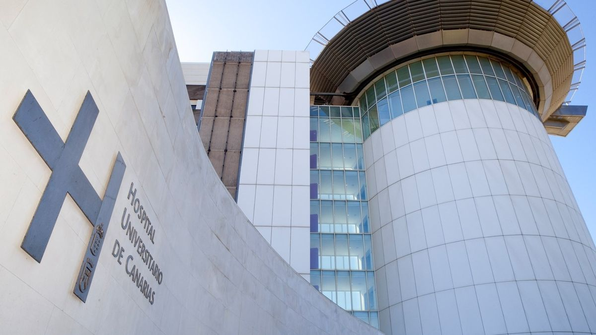 Exterior del Hospital Universitario de Canarias.