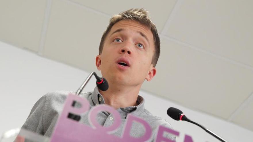 Mayoría de afines a Errejón en la lista de Podemos para las primarias de Madrid