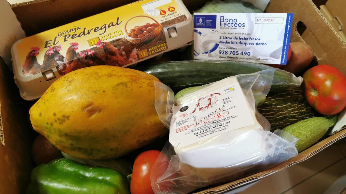 Casi 6.000 familias grancanarias de 'cuota cero' recibirán 330.000 kilos de alimentos