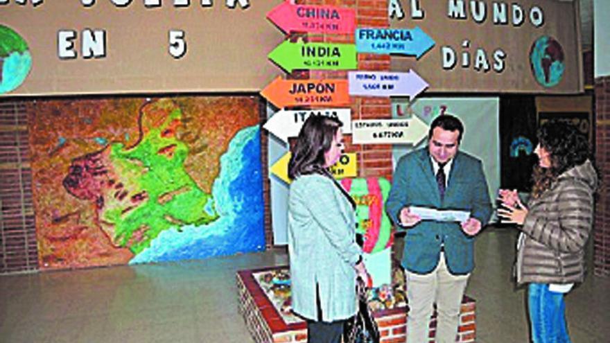 El CEIP Vista Alegre da la vuelta al mundo en 5 días