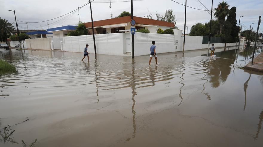 Las lluvias hacen saltar trapas en el Port de Sagunt