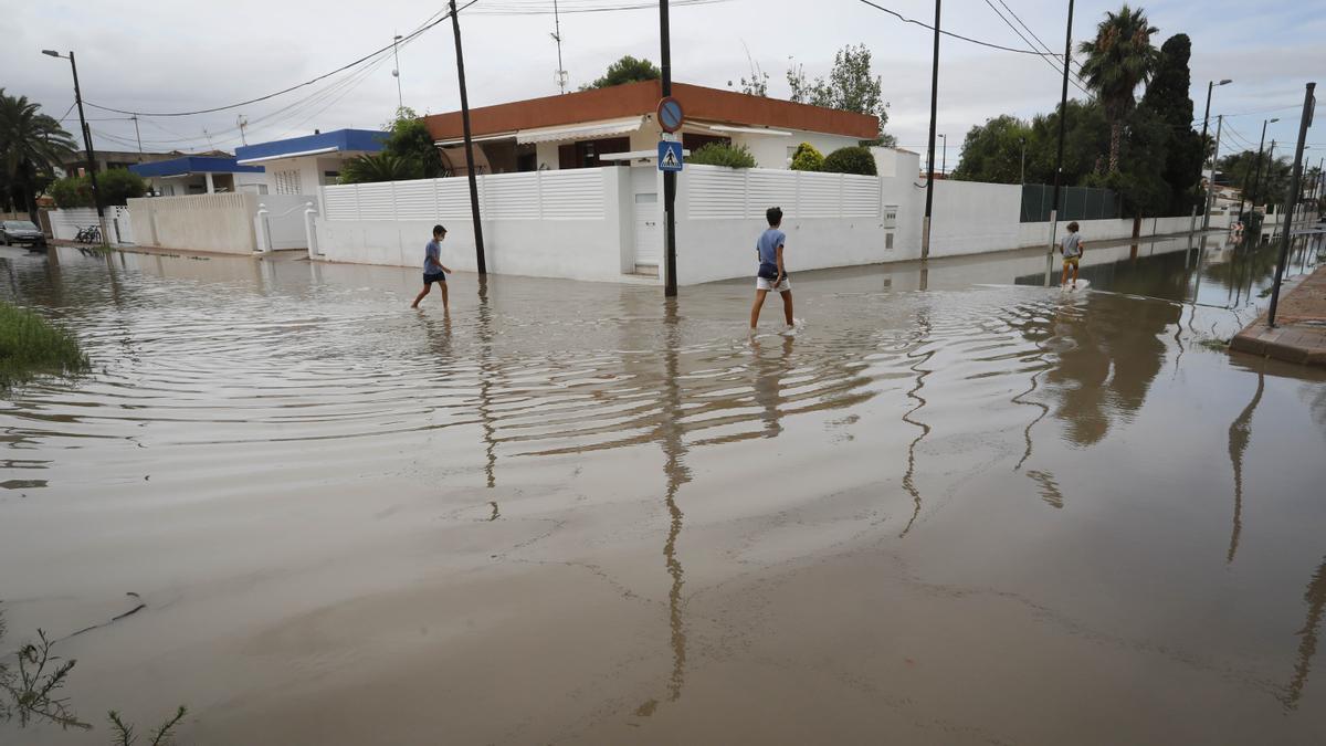 Inundación en Almardà