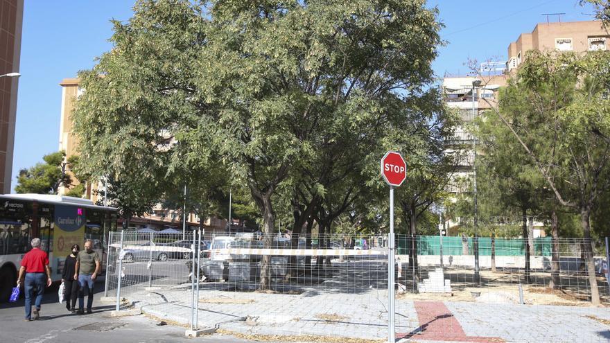 El bipartito reactiva las obras de la Plaza del Progreso tras dos meses y media paralizadas