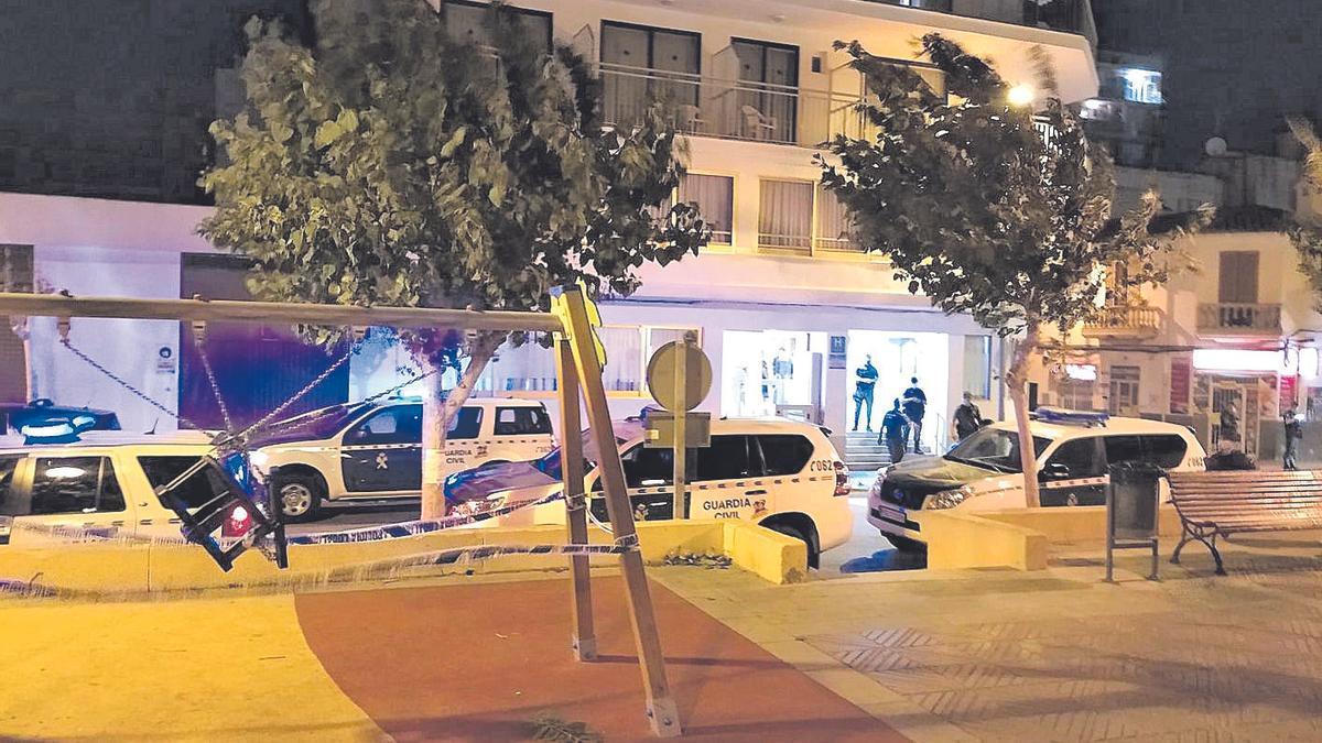 Los migrantes infectados, trasladados a este hotel de Llucmajor