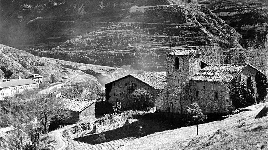 Guardiola comparteix la història d'amor amb el monestir de Sant Llorenç