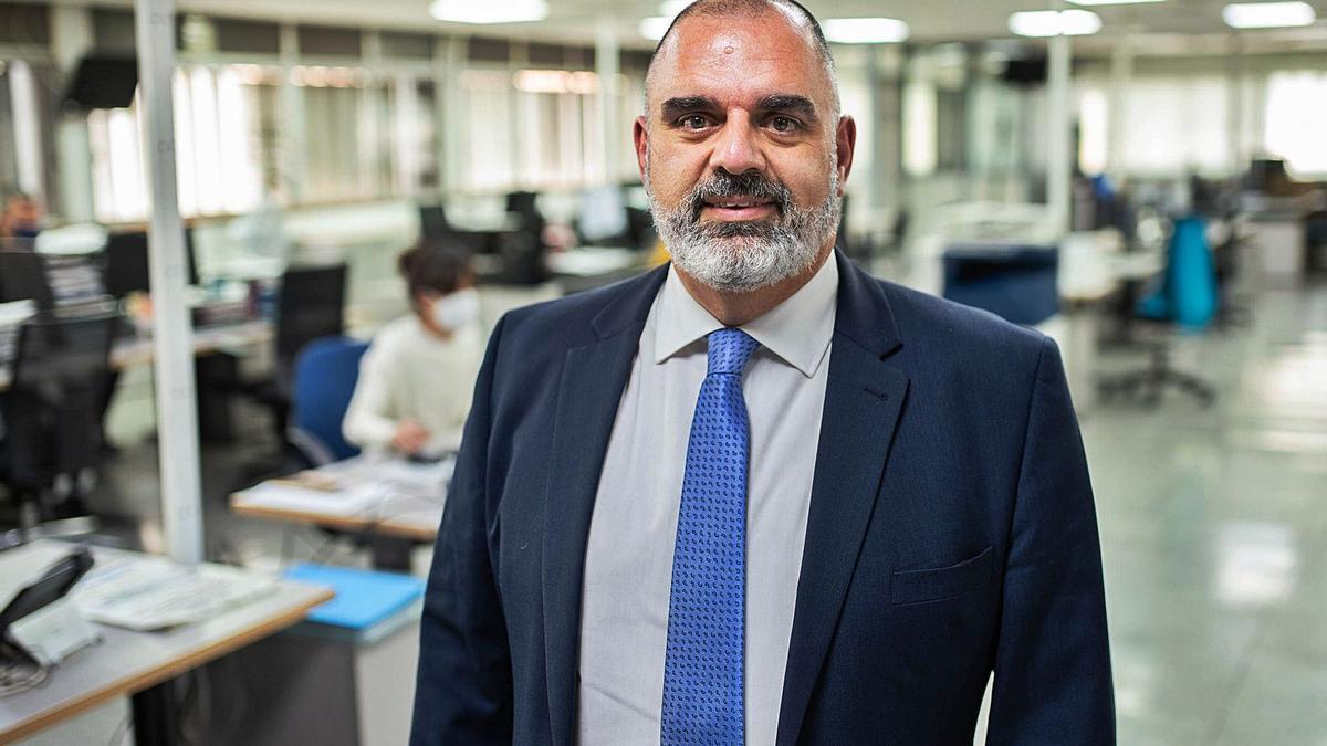 El presidente de Aproser Canarias, David Jiménez, cree que con la Covid-19 se adoptan medidas que favorecen a las grandes multinacionales de medios de pago electrónico