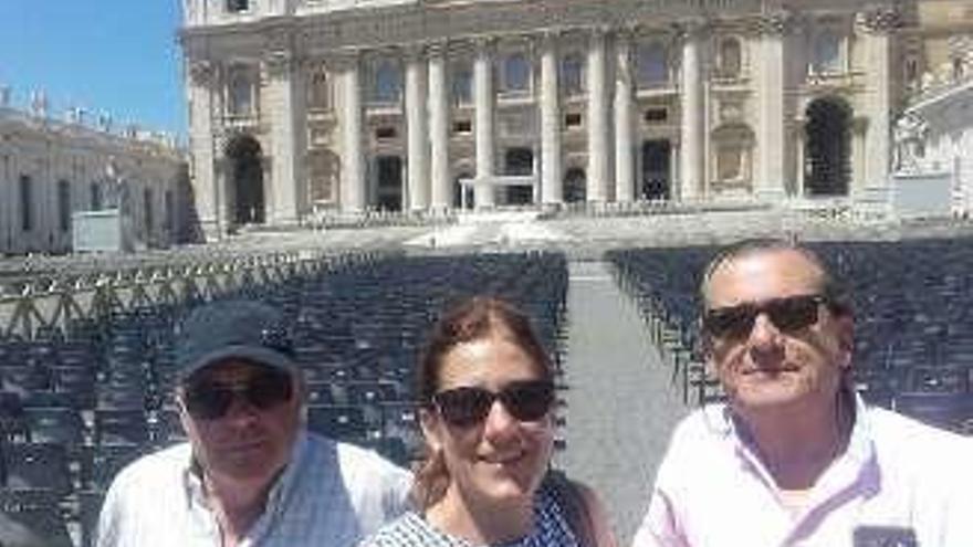 De Ribadesella a Roma, en Vespa