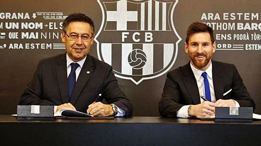Messi paga en impostos 370 milions des del 2017
