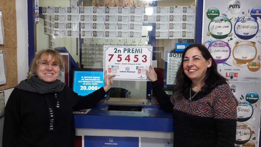 La Loteria de Castelló reparteix 1 MEUR del 2n premi de dissabte