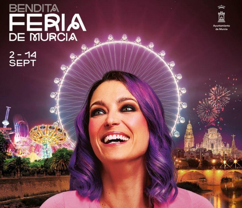 Cartel de la Feria con Raquel Sastre como protagonista