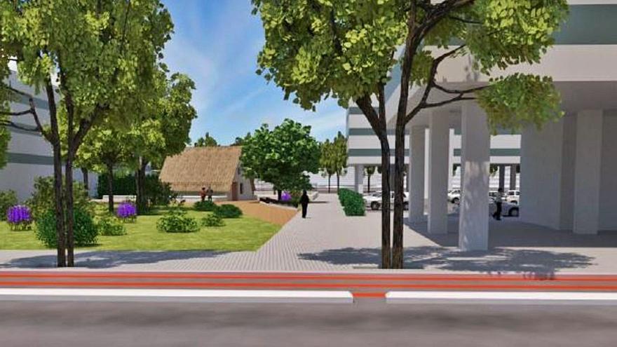 CONSTRUCCIÓN | El plan del nuevo barrio a espaldas de la Fe se modifica para salvar una barraca