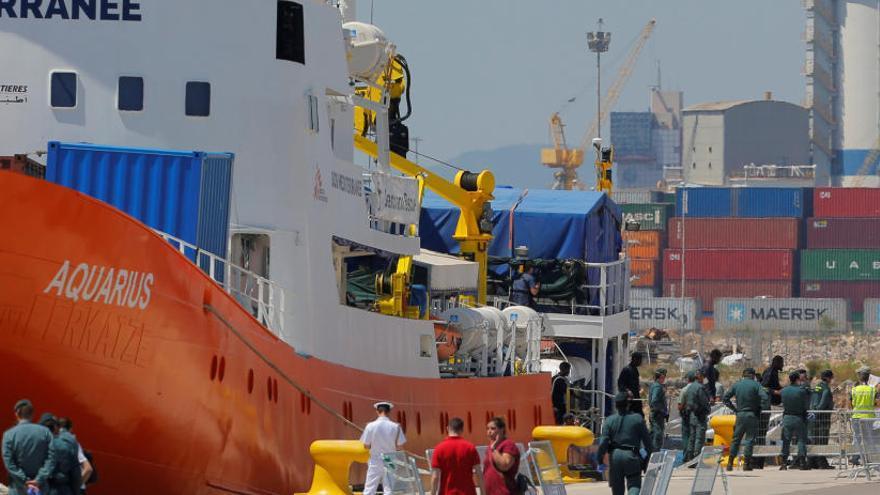 SOS Mediterranée y MSF dejan el Aquarius y buscan otro barco