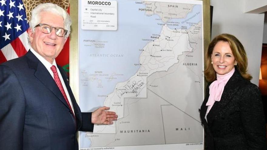 EEUU incluye al Sáhara Occidental en su nuevo mapa oficial de Marruecos