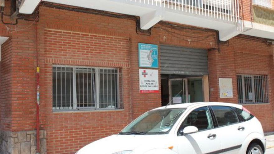 Alboraia traslada la asistencia matinal del consultorio de Sant Llorenç por varios positivos