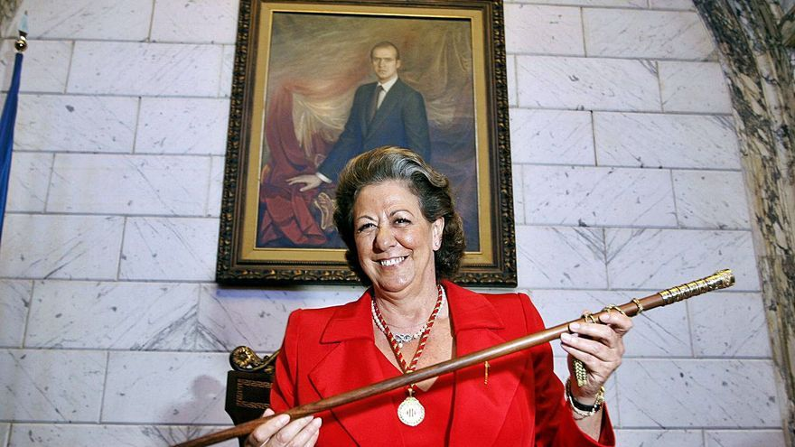 Compromís y PSPV rechazan hacer Alcaldesa Honoraria a Rita Barberá