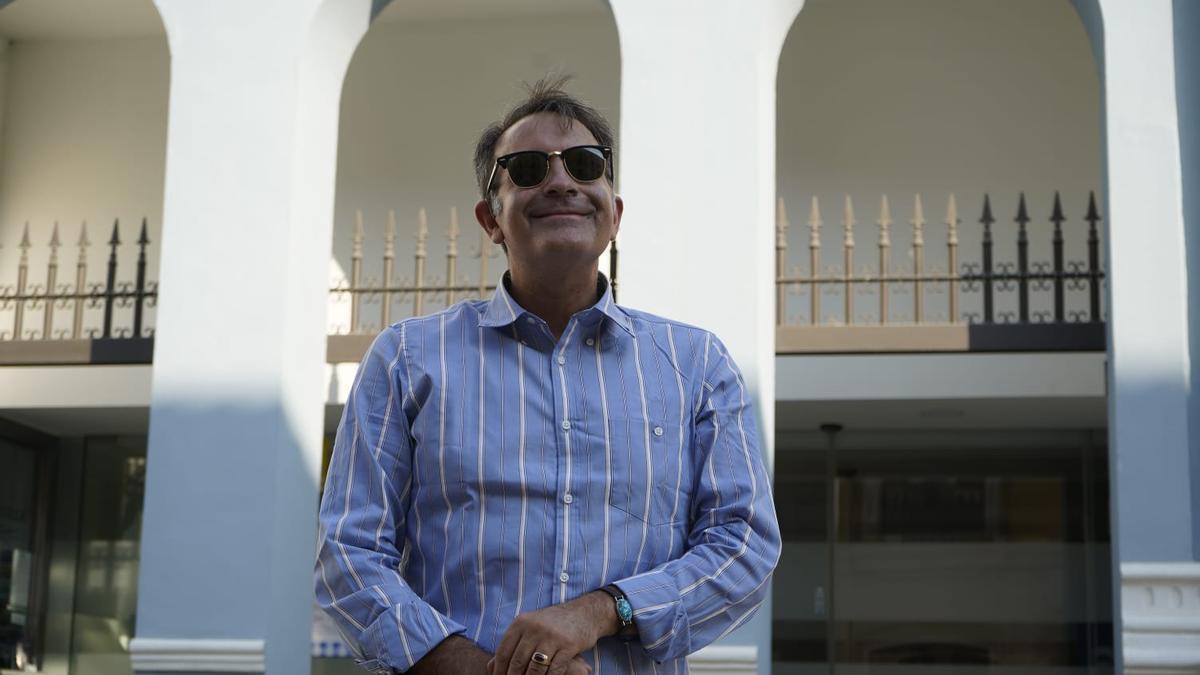 El escritor José Soto Chica en Zamora