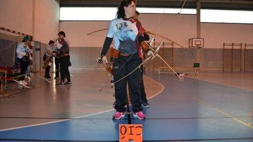 Mónica Ledo participa en el Nacional de Tiro con Arco en Sala de Oropesa