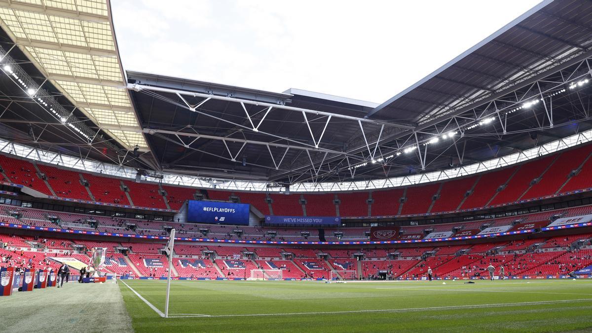 Wembley será la sede de la final de la Eurocopa.