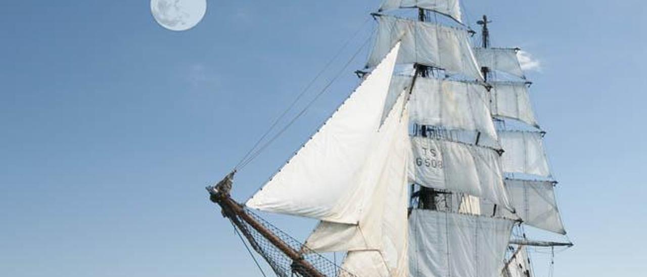 El bergantín alemán 'Roald Amundsen' llegará a Fuerteventura el domingo.