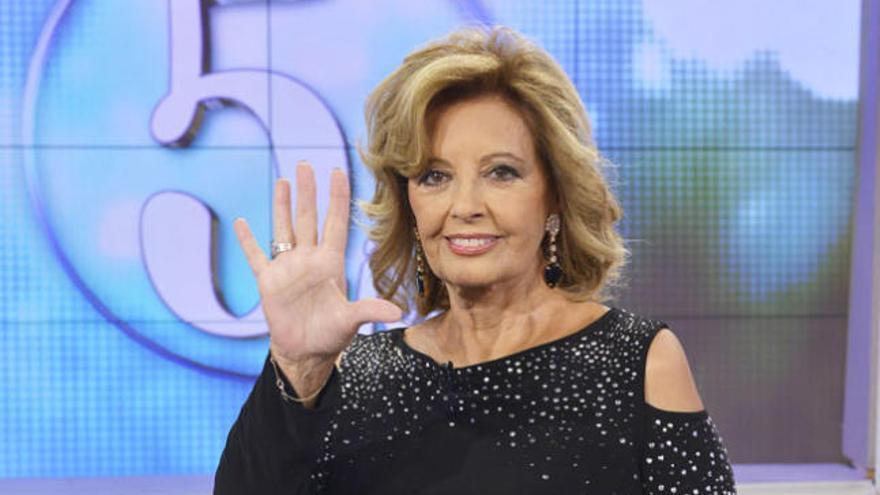 María Teresa Campos vuelve a Telecinco en furgoneta