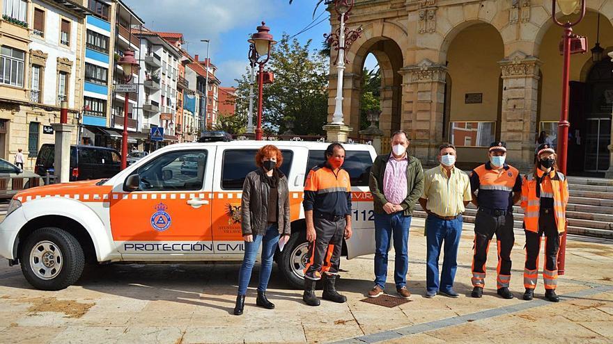 Protección Civil de Villaviciosa recibe su nuevo vehículo