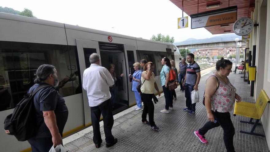 El corte ferroviario entre Baiña y Mieres durará hasta principios del próximo año