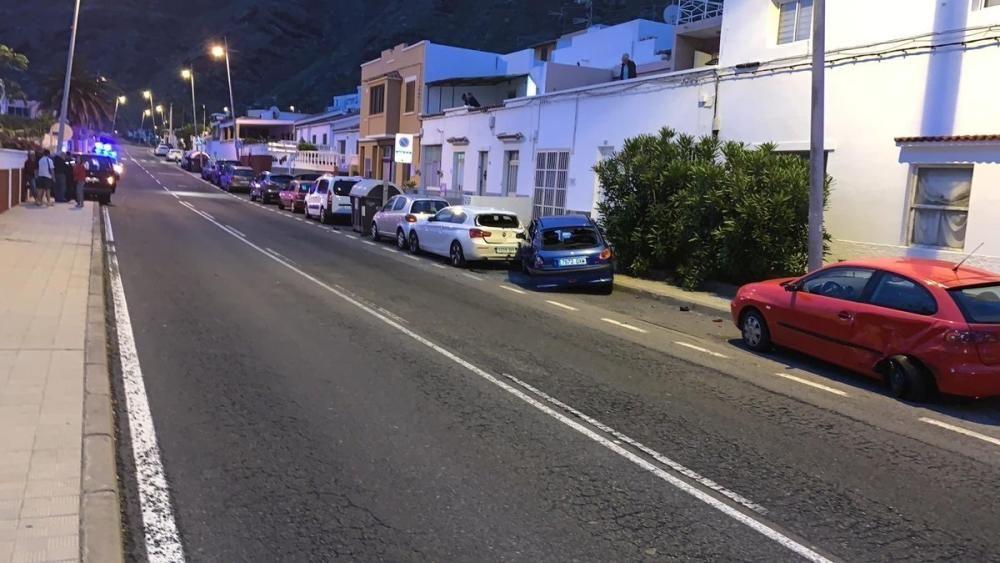 Accidente en Bajamar tras consumir drogas