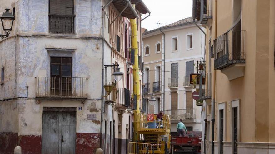 El Consell aprueba la ayuda para la última fase del ARRU en el casco antiguo de Xàtiva