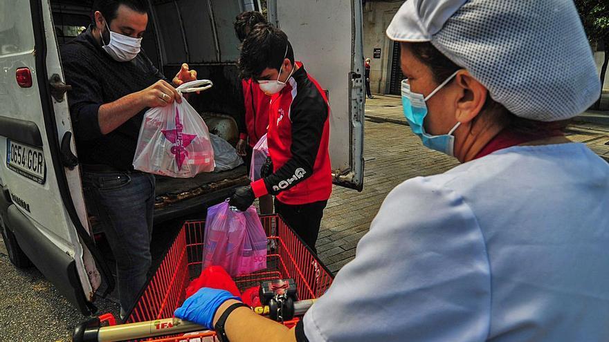 Se duplican los casos de emergencia social en Meaño a causa de la crisis por el COVID