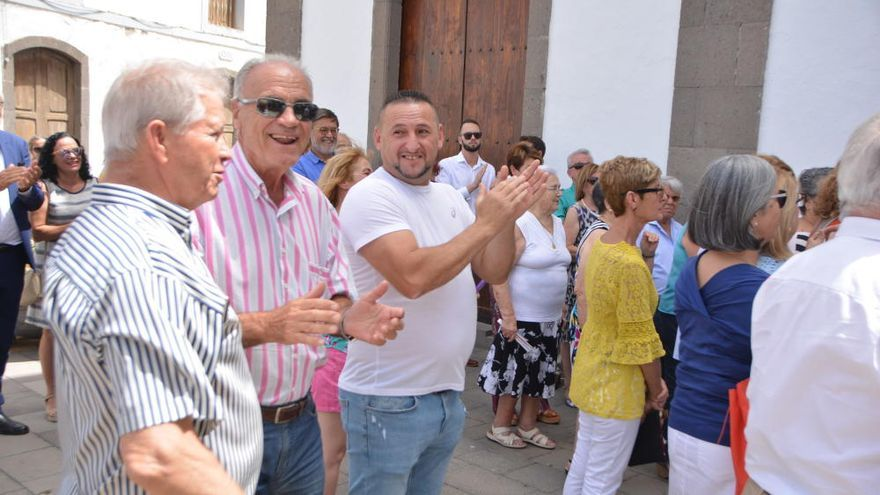 Tirajana celebra la festividad de San Bartolomé en el casco de la Villa