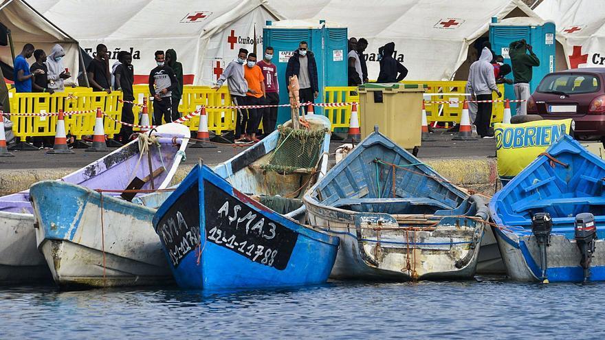 Madrid aún no ha pedido refuerzos a Frontex para actuar en la 'ruta canaria'