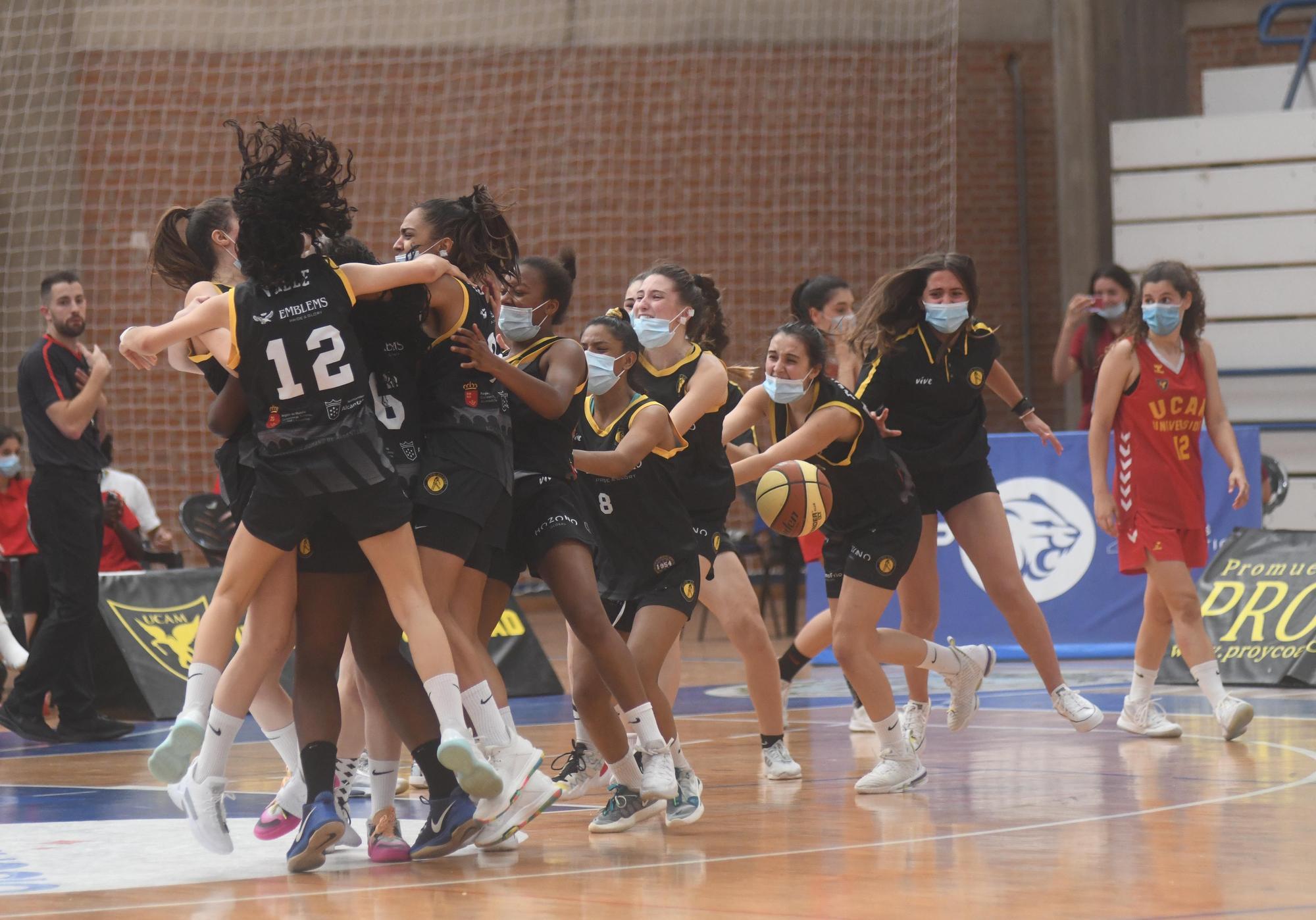 Final de baloncesto junior femenino