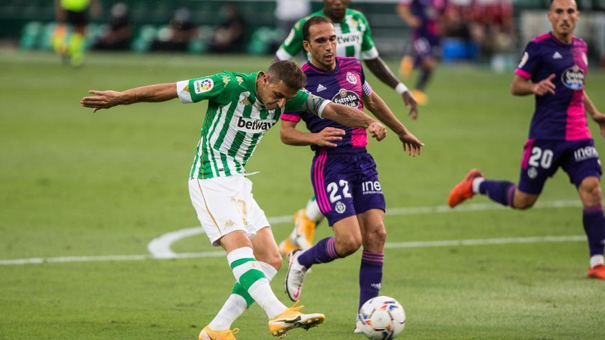 El Betis logra su segunda victoria ante el Valladolid