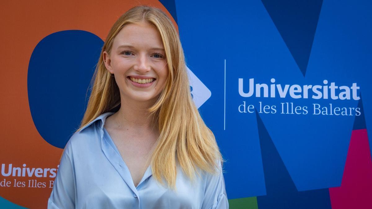 Sophie Roberts, la mejor nota de la PBAU en Baleares