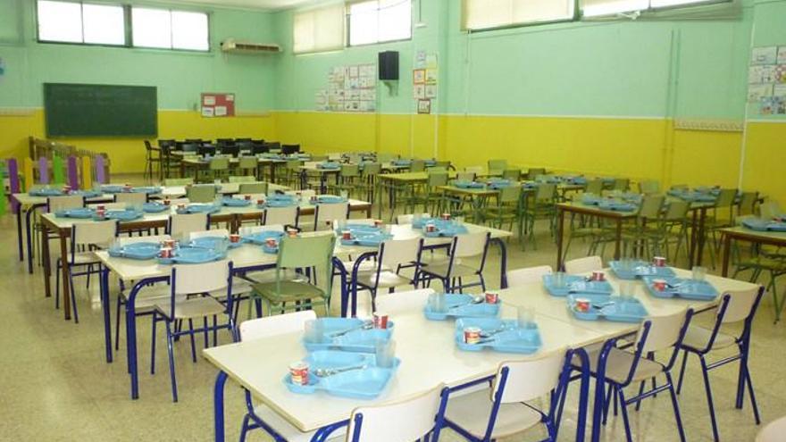 El Campello habilita 30.000 euros para ayudas complementarias, directas y extraordinarias al comedor escolar
