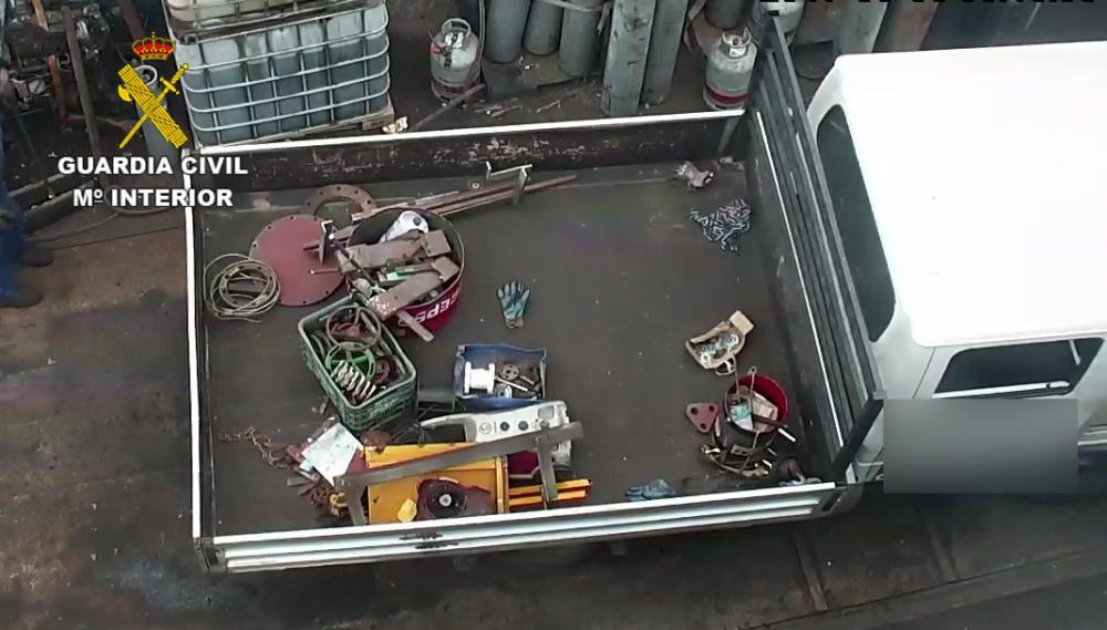 Oleada de robos de maquinaria en el Puerto de Las Palmas