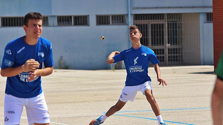 A La Nucia entrena la selecció masculina